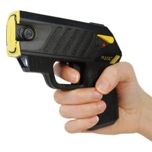 Taser® Pulse Plus With Laser, LED In Hand