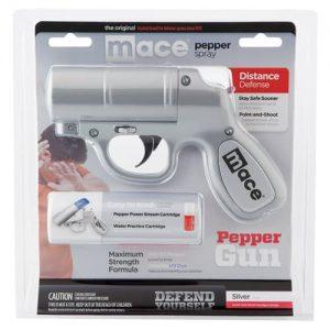 Mace® Pepper Gun – Silver Package