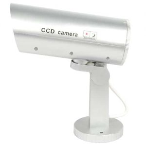 Dummy Camera With Flashing Red LED Light Side