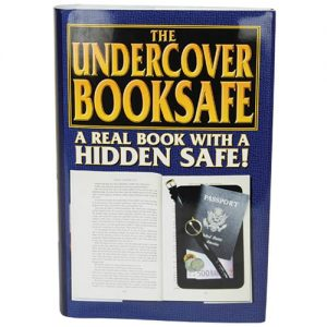 Real Book Diversion Safe With Removable Retail Sales Sleeve