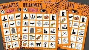 Printable Halloween Bingo