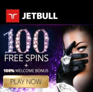 JetBull Casino 100% up to €300 + 100 free spins on any slot game!