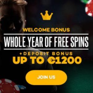 SHADOW BET CASINO | 520 free spins + 175% bonus + €1200 gratis