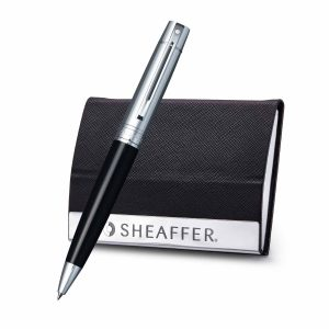 Sheaffer 9314 Ballpoint Pen With Business Card Holder Rs. 1800