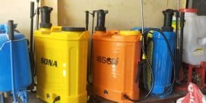 Sanitizer Sprayer Tank