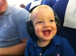 KLM, flying with baby, car seat on plane, klm with baby