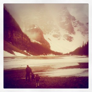 Moraine Lake, Alberta, moraine lake alberta, travel with baby, travel with toddler