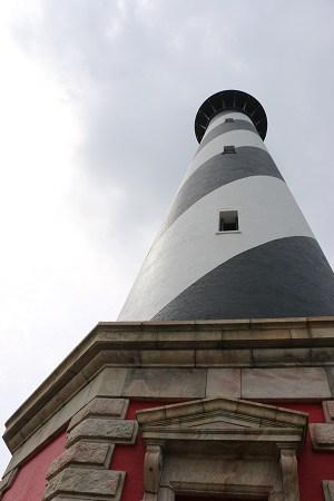 cape hatteras lighthouse, climbing cape hatteras lighthouse