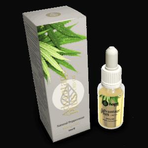 Advantage Plus Peppermint Flavoured CBD Oil