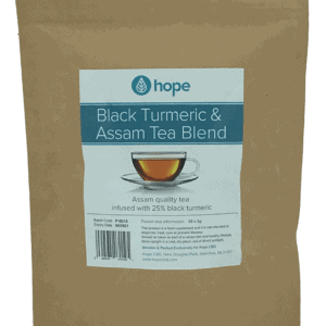 Black Turmeric Tea bags- Assam Blend