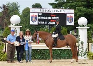 Champion Titles Awarded at 2015 US Pony Finals