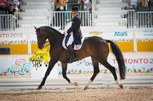 Pan American U.S. Dressage Team Clinches Gold
