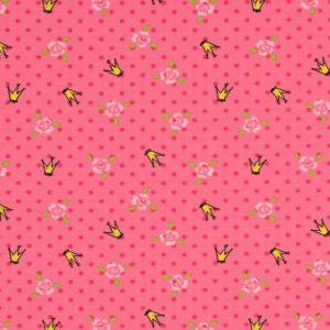 Jersey med kroner pink