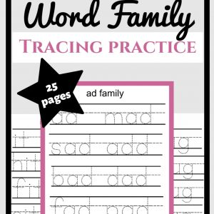 Free Word Family Printables