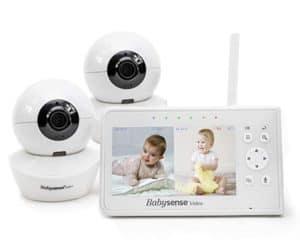 BabySense Split Screen Baby Monitor