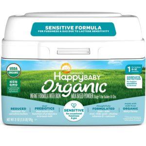 Happy Baby Organic Stage 1 Infant Formula