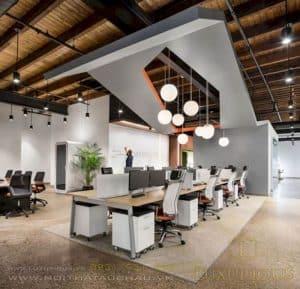 Yêu cầu ánh sáng khi thiết kế văn phòng
