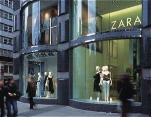 international shipping from ZARA