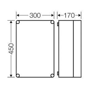 kích thước tủ hensle Mi 0300