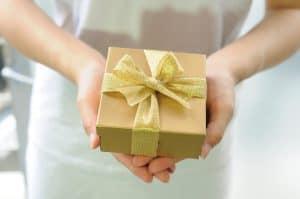 wortspiel bekomme ien geschenk