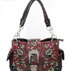 Red Western Conceal Carry Purse
