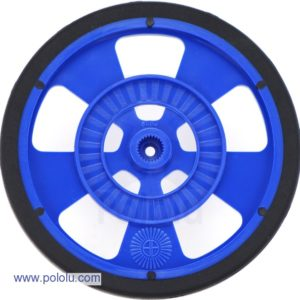 69mm Servo Wheel (Blue)