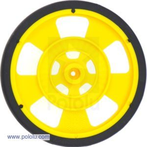 69mm Servo Wheel (Yellow)