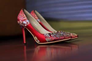 High Heels in rot