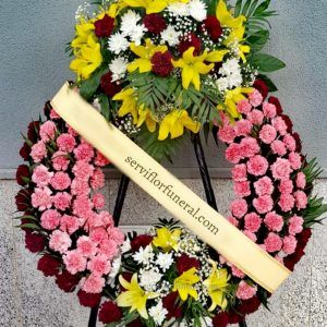 corona funeraria Bondad