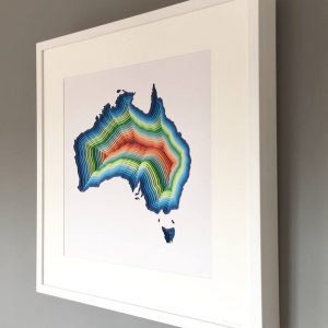 """Australia"" - Original Artwork by Chloe Natalia"