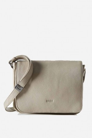 BREE Lady Top 12 Handtasche - Grau Cotton10657112