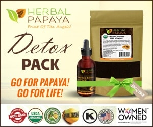 Papaya seed powder for worms