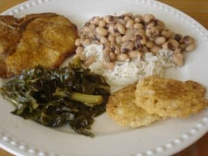 Traditional Southern New Year's Day Menu. Steeped in tradition, each component of a traditional Southern New Year's Day menu is symbolic.