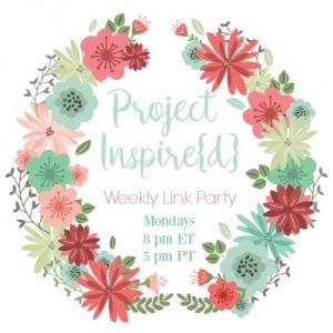 Project Inspired Weekly Link Party - white background