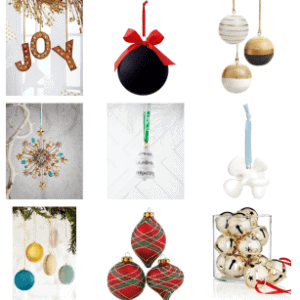 HOLIDAY ORNAMENT GIFT GUIDE