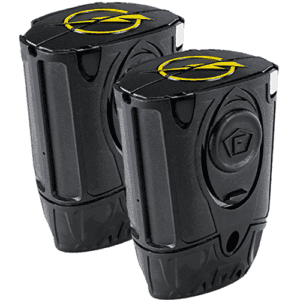 Taser Bolt, Pulse and C2 Replacement Cartridges Live 2 Pack Side View