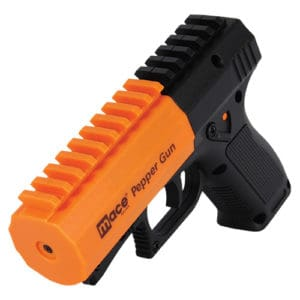 Mace® Brand Pepper Gun 2.0 Front Side View