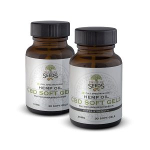 Tree of Life Seeds - Hemp Oil - CBD Soft Gels - 10MG - 25MG - Products Group