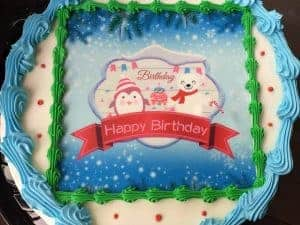Tremendous 1 2 Price Ice Cream Cakes At The Maize Goddard West Maple Dairy Funny Birthday Cards Online Fluifree Goldxyz