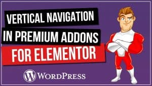 Elementor Vertical Navigation & Vertical Scrolling for FREE