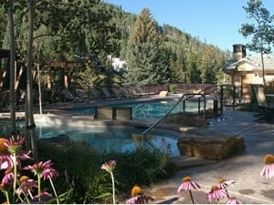 Antlers, Vail, hotel, mountainside pool, hot tubs