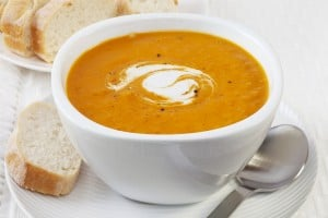 This winter Chef Barry is offering freshly made soups available for purchase, including on a rotating basis Tomato Basil, Butternut Squash, Chili (beef & chicken) and Chicken Noodle