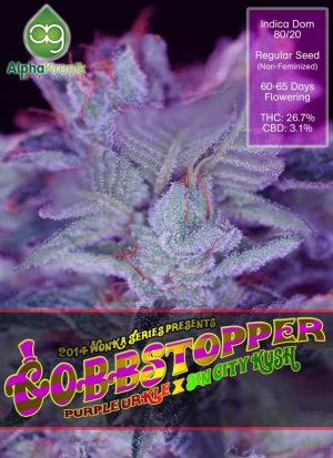 Gobbstopper part of Alphakroniks Wonka Series is a Sativa Dominant Cannabis Strain