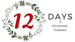 12 Days of Xmas Cookies Banner