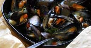 Schnelle Gerichte – Muscheln im Gemüsesud