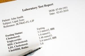 Cholesterol Laboratory Report
