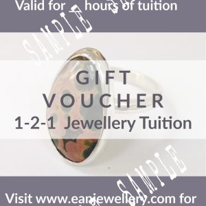 gift voucher 1-2-1 tuition