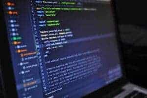 artificial intelligence and machine learning code on screen