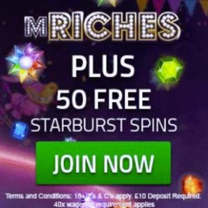mRiches Casino Review - SCAM / Not Recommended!