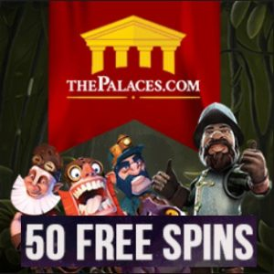 The Palaces Casino [review] 50 gratis spins and £250 welcome bonus